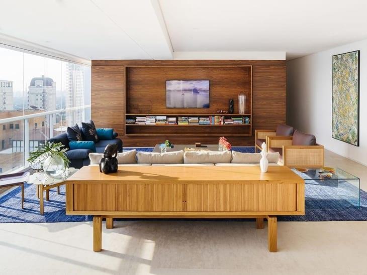 75 ideias para decorar e aproveitar melhor o espa o atr s for Sofa que se transforma em beliche