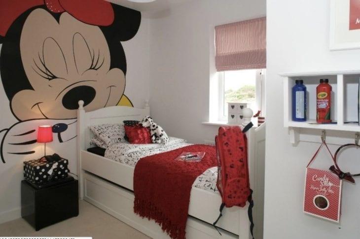 81b255635b Decoração da Minnie  45 quartos para quem ama a Minnie