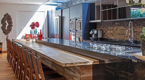 Balcão de cozinha: 75 ideias e modelos com muito estilo