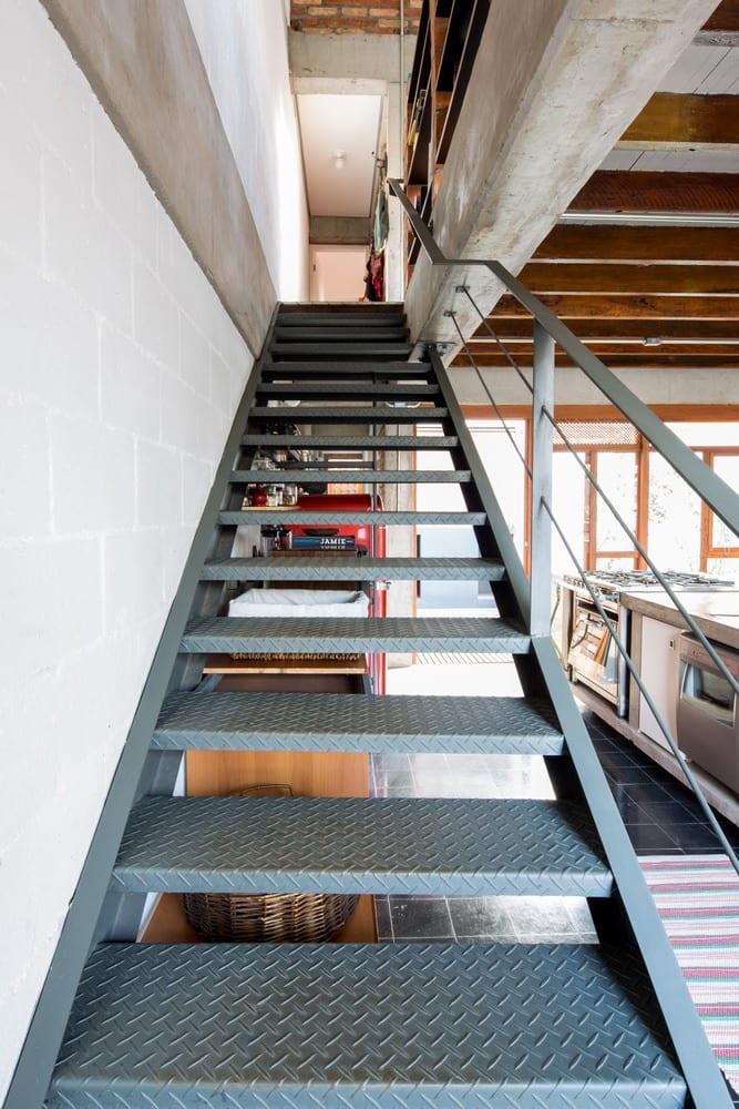 Well-known Escada de ferro: 50 modelos funcionais para inspirar o seu projeto XD23
