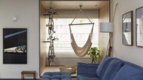 Apartamento com medidas reduzidas e que preza pelo conforto