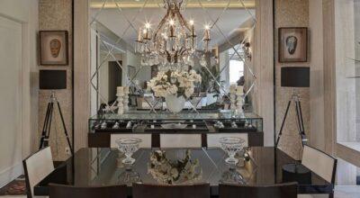 Espelho bisotado: 60 inspirações incríveis e sofisticadas