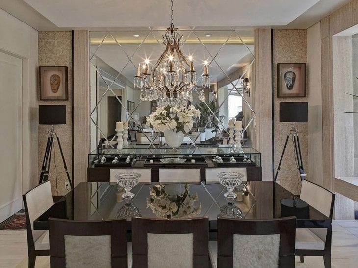 Espelho Bisotado 60 Inspirações Incríveis E Sofisticadas