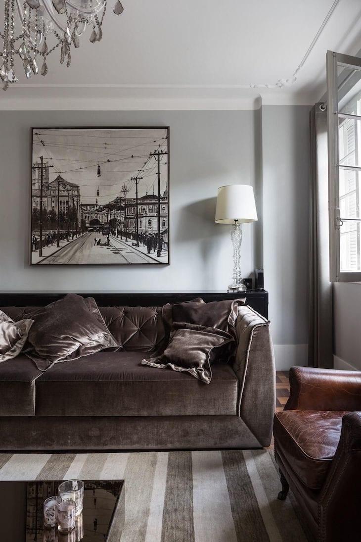 b359b747c 50 salas com quadros grandes para você se apaixonar