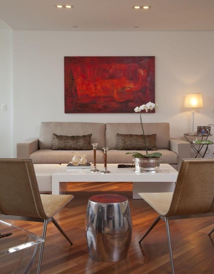 9f52e8682 50 salas com quadros grandes para você se apaixonar