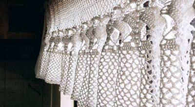 Cortina de crochê: 40 modelos para enfeitar sua casa