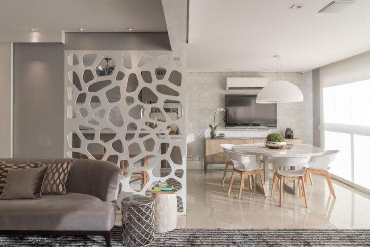 Divis ria de ambiente 50 modelos inspiradores para for Ambientes casas modernas