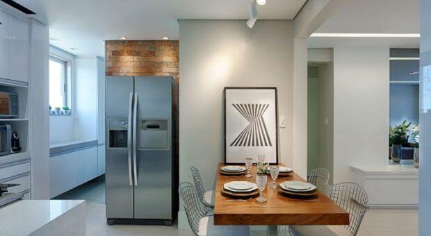 Mesa de parede: 64 ideias para ajudar a economizar espaço na sua casa