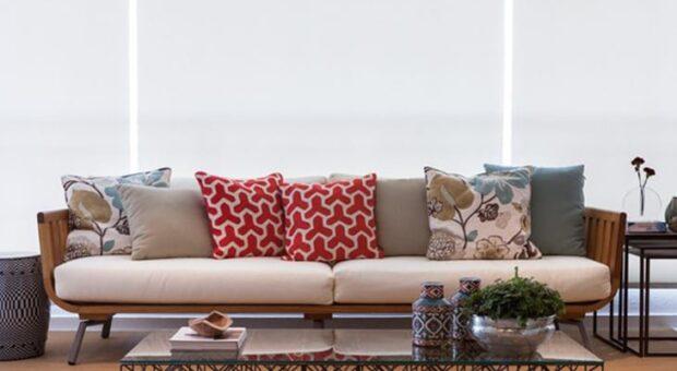 Sofá de madeira: 60 modelos lindos, confortáveis e cheios de estilo
