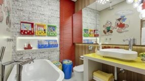 Banheiro infantil: 50 inspirações de decoração voltada para os pequenos