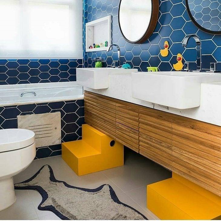 Banheiro infantil: 50 inspirações de decoração voltada para os ...
