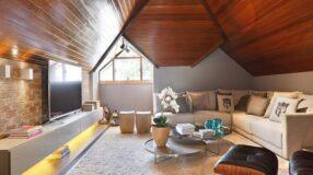 Sótão: 60 referências para te ajudar a aproveitar esse espaço da casa