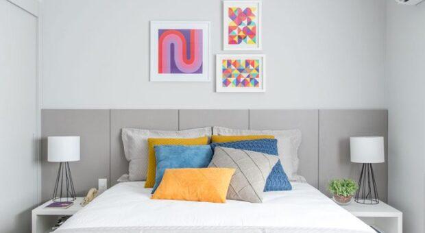 Cabeceira de casal: 60 modelos para incrementar o visual da sua cama