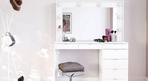 Penteadeira camarim: 60 inspirações cheias de funcionalidade e estilo