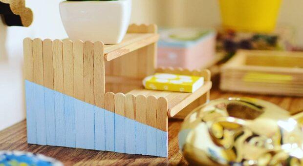 Artesanato com palito de picolé: 50 ideias criativas e passo a passo