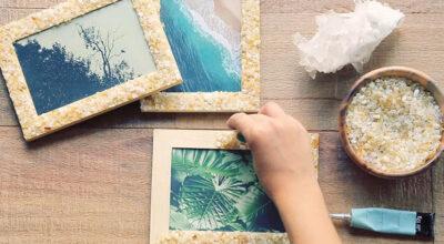 Como fazer porta-retratos: veja tutoriais e mais 20 ideias para te inspirar