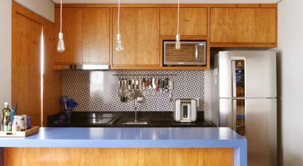 80 modelos de cozinha americana pequena para você se inspirar
