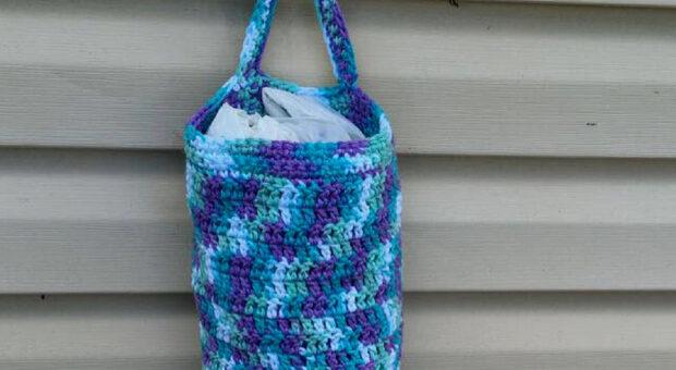 Puxa-saco de crochê: 68 modelos para decorar e organizar a casa
