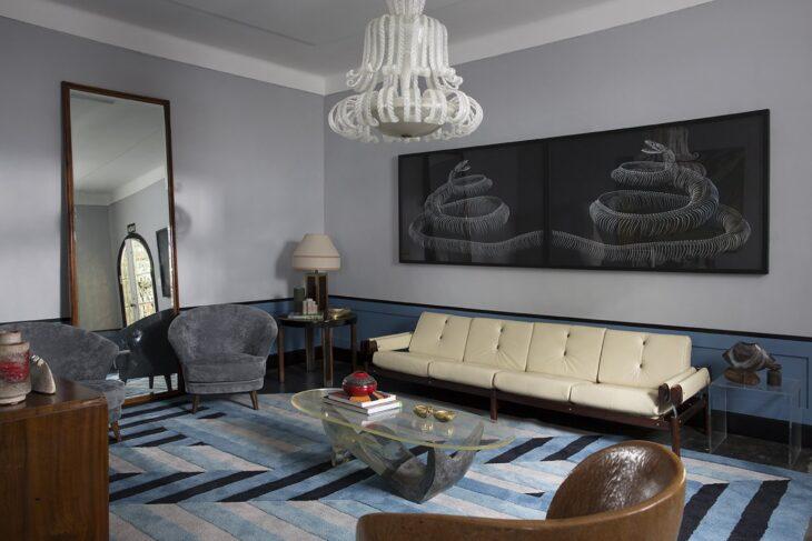 Salas retr 85 projetos cheios de estilo que homenageiam for Mobilia utrechtsestraat 62 64