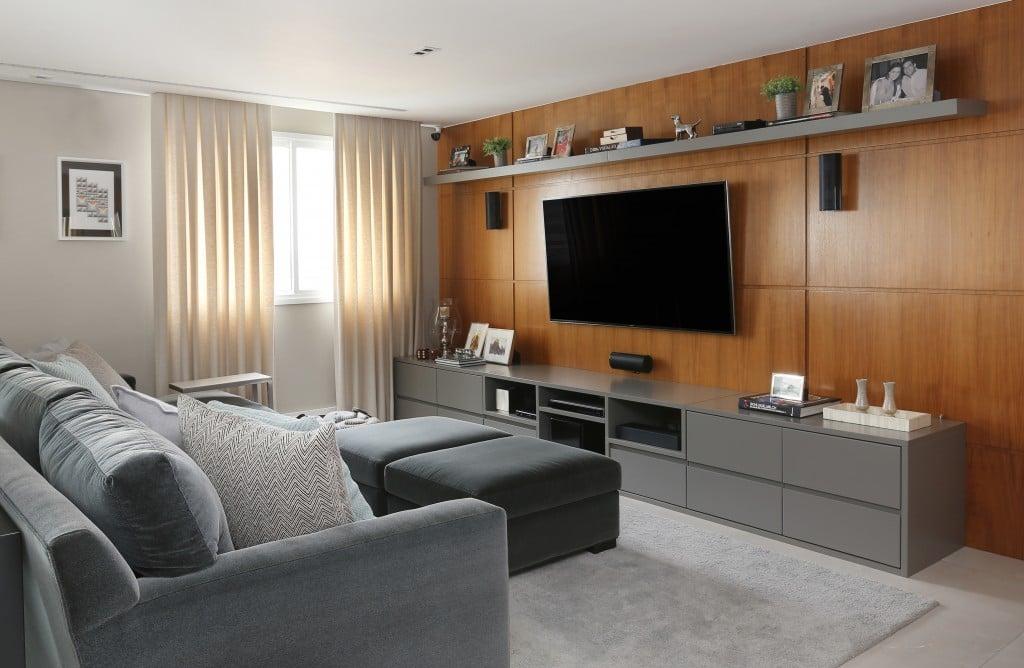 Apartamento decorado 50 ambientes LINDOS para inspirar a sua decoraç u00e3o -> Decoração De Pequenos Apartamentos Fotos