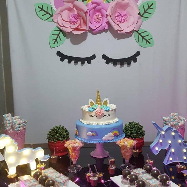 Festa De Unicórnio 80 Ideias De Decoração Bolos E Lembrancinhas
