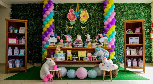 80 inspirações de festa de unicórnio e tutoriais para fazer a decoração