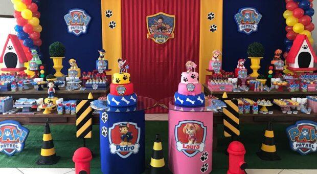 Festa Patrulha Canina: 71 ideias do tema e decorações passo a passo