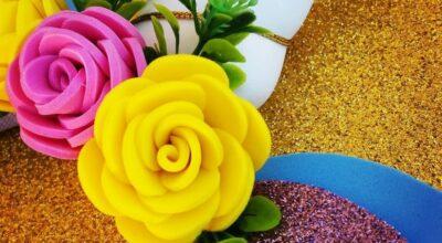 Como fazer flor de EVA: tutoriais em vídeo e 55 fotos para se inspirar