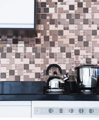 Pastilhas adesivas para cozinha: praticidade e beleza em 45 inspirações