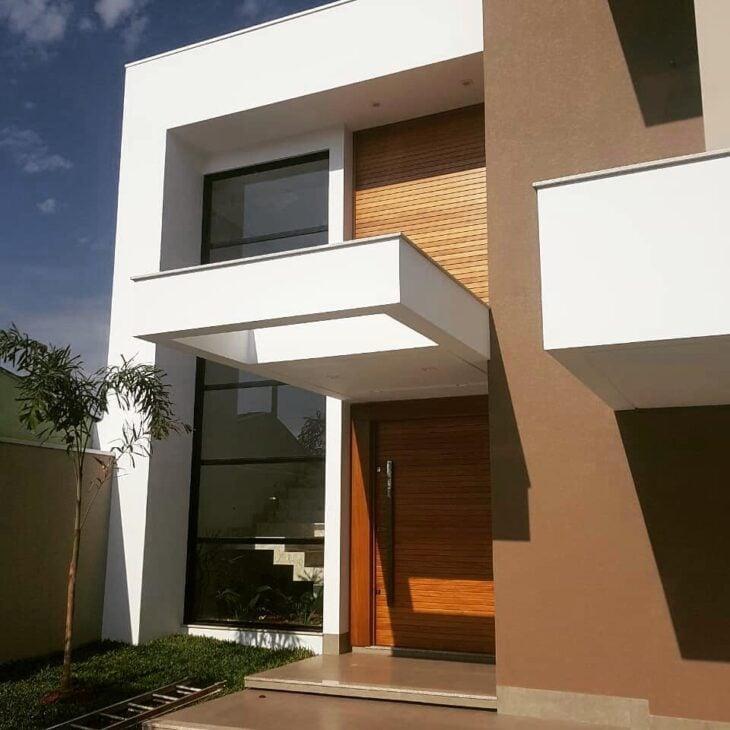 33 Ideias Para Transformar Sua Casa Normal Em: Portas De Entrada De Madeira: 80 Modelos Para Transformar