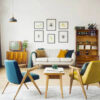 Salas retrô: 85 projetos cheios de estilo que homenageiam o passado