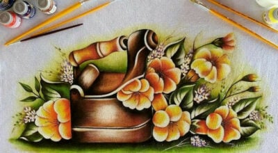 Pintura em tecido: tutoriais e lindas inspirações para fazer em casa