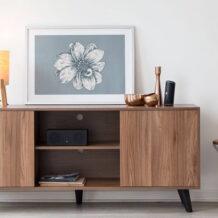 Rack retrô: garanta mais charme para sua sala com este móvel