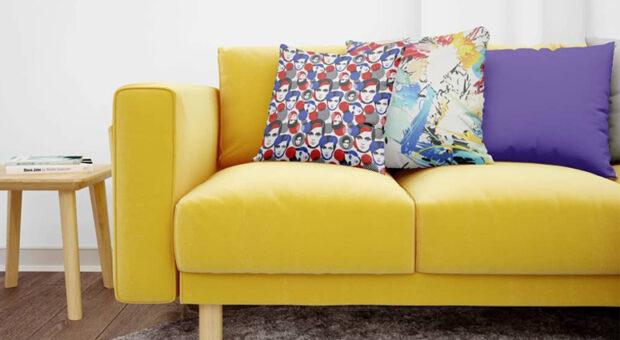 Almofadas coloridas: inspirações e onde comprar este item descontraído