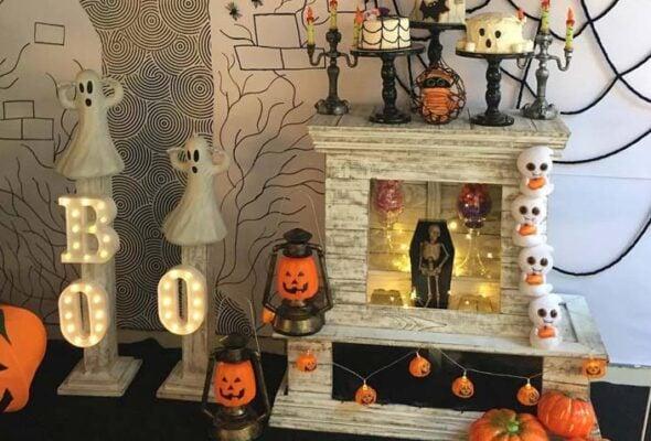 Decoração Halloween: 80 fotos e tutoriais para uma festa assustadora