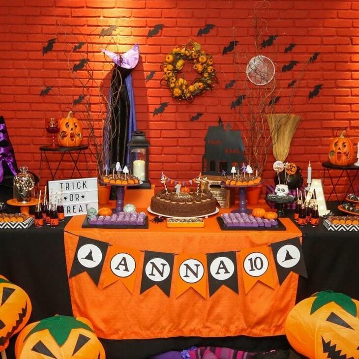 Decoracao De Festa Infantil Tema Halloween.Decoracao Halloween 80 Fotos Tutoriais Para Uma Festa Assustadora