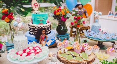 Festa Moana: 93 fotos e tutoriais para uma comemoração cheia de aventura