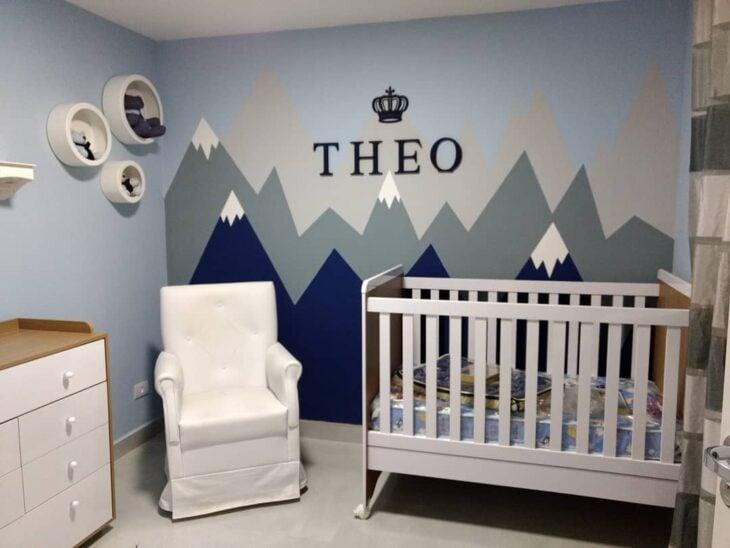 ccd5573a1 Nichos para quarto de bebê  70 ideias e tutoriais passo a passo