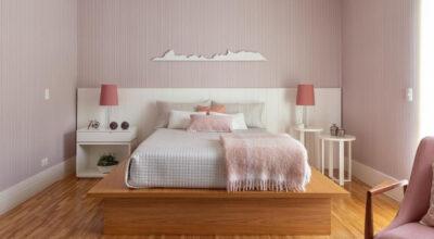Quarto rosa: 75 inspirações incríveis de dormitórios femininos