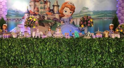 Festa Princesa Sofia: 75 ideias e tutoriais para um evento digno da realeza