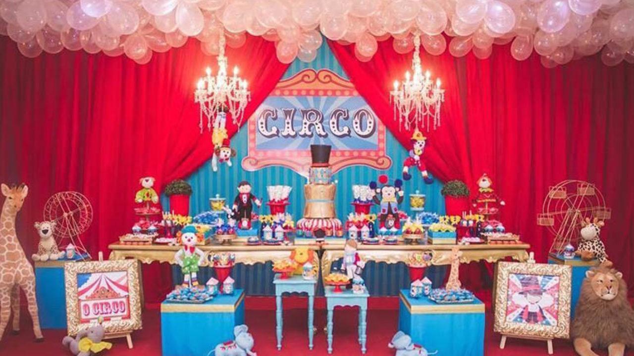 Festa Circo 80 Ideias E Tutoriais Para Uma Comemoracao Magica