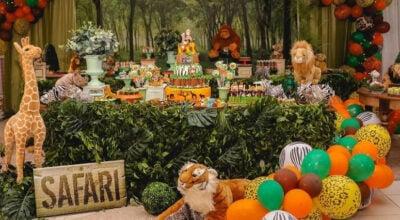 Festa Safári: 70 sugestões e passo a passo para uma festa animal