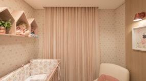 60 ideias lindas de cortina para quarto de bebê e como fazer