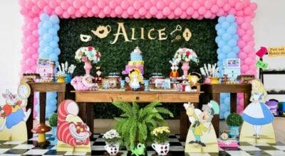 Festa Alice no País das Maravilhas: 85 ideias e tutoriais dignos de cinema