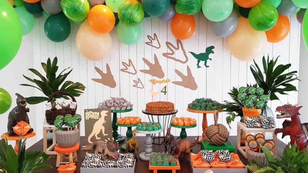 Festa Dinossauro 45 Ideias E Tutoriais Para Um Evento Cheio De