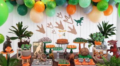 Festa Dinossauro: 45 ideias e tutoriais para um evento cheio de aventura