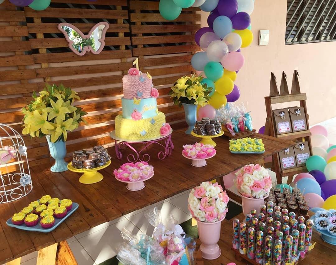 Festa Jardim Encantado 80 ideias e tutoriais para um dia cheio de magia -> Decoração De Festa Infantil Jardim Encantado Rustico