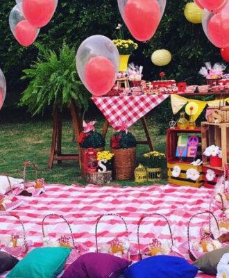 Festa Piquenique: 80 ideias encantadoras para uma celebração ao ar livre