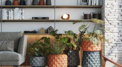Vasos para plantas: 60 modelos encantadores e ideias para fazer você mesmo