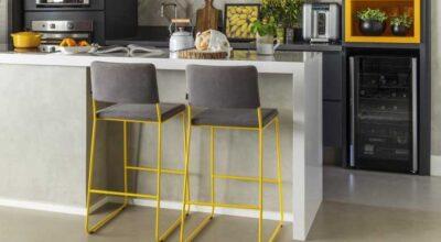 Bancada de cozinha: 50 modelos funcionais e belos para seu espaço